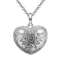 Heart-shape Vintage Angel Caller Pendants